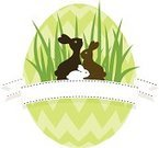 Rabbit - Animal,Easter Bunny,Baby Rabbit,Easter Egg,Silhouette,Chocolate,Pattern,Family,Backgrounds,Easter Egg Hunt,Cute,Sparse,Vector,Love,Springtime,Frame,Retro Revival,Design,Animal,Ilustration,Banner,Label,Sewing,Isolated,Grass,Brown,Old-fashioned,Green Color,Greeting Card,Chocolate Candy,Togetherness,Holiday,Illustrations And Vector Art,Holidays And Celebrations,Animals And Pets,Easter,Nature,Copy Space,Decoration,Ribbon