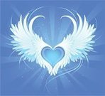 Angel,Wing,Heart Shape,Spirituality,Feather,Vector,Ilustration,Flying,Drawing - Art Product,White,Gothic Style,Creativity,Loving,Concepts,Fantasy,Ideas,Purity,Lightweight,Computer Graphic,Softness,Sunbeam,Posing,Line Art,Contour Drawing,Animal Hair,Illustrations And Vector Art,Arts And Entertainment,Painted Image,Arts Symbols,Concepts And Ideas