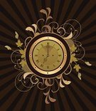 Clock,Watch,Old,Drawing - Art Product,Time,Clock Face,Alarm Clock,Retro Revival,Grunge,Old-fashioned,Ornate,Style,Dial,Elegance,1940-1980 Retro-Styled Imagery,Pattern,Funky,Number,Abstract,Design,Floral Pattern,Ilustration,Vector,Single Object,Striped,Backgrounds,Art,Leaf,o'clock,Painted Image,Decoration,Design Element,Time,Swirl,Arts Abstract,Ticking,Paintings,Illustrations And Vector Art,Concepts And Ideas,Branch,Curled Up,Close-up,Gold Colored,Vector Florals,Scroll Shape,Plant,Minute Hand,Classic,Arts And Entertainment
