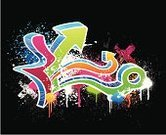 Graffiti,Hip Hop,Spray Paint,Dirty,Design,Abstract,Backgrounds,Paint,Spray,Grunge,Arrow Symbol,Orange Color,Blue,Design Element,Multi Colored,City Life,Digitally Generated Image,Black Color,Ilustration,Backdrop,Textured,White,Pink Color,Splattered,Vector,Sketch,Purple,Green Color,Copy Space,Illustrations And Vector Art,Vector Backgrounds,Wallpaper Pattern