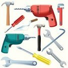 Work Tool,Power Tool,Crowbar,Spanner,Equipment,Drill,Adjustable Wrench,Collection,Wrench,Engineering,Construction Industry,Business,Screwdriver,Trowel,Drill Bit,Industry,Plastic,Variation,Chrome,Quality Control,Wood - Material,Metal,Expertise,Silver - Metal,Business,Objects/Equipment,Claw Hammer,Industry,Business Symbols/Metaphors,Construction,Industrial Objects/Equipment