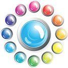 Sphere,Interface Icons,Glass - Material,Paint,Switch,Button,Brilliant,Push Button,Computer Icon,Circle,Shiny,Glitter,Icon Set,Symbol,Drop,Curve,Reflection,Collection,Advertisement,Banner,Design,Rain,Clip Art,Vibrant Color,Isolated Objects,Isolated,Design Element,Vector Icons,Blue,Set,Illustrations And Vector Art,Green Color,Red,Placard,Billboard,Multi Colored,Copy Space