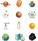 Symbol,Space,Computer Icon,Icon Set,Question Mark,Satin,Saturn,Astronomy,Thinking,Star - Space,Planet - Space,Space Shuttle,Globe - Man Made Object,Astronomy Telescope,Rocket,Earth,Mars,Multi-Layered Effect,Spaceship,Compass,Sun,World Map,Star Shape,Vector Icons,Sunlight,Medicine And Science,Illustrations And Vector Art,Science Symbols/Metaphors