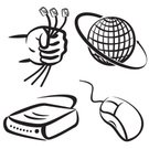 Computer Mouse,Globe - Man Made Object,Earth,Modem,Vector,Human Hand,World Map,Ilustration,Around,Communication,Symbol,Hubcap,Global Business,Holding,Dial,Business,Connection,Illustrations And Vector Art,Business,rg45,Concepts,Arranging