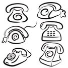 Telephone,Telephone Receiver,Headset,Office Interior,Vector,Arranging,Ilustration,Dial,Symbol,Business,Communication,Discussion,Equipment,phone-set,Illustrations And Vector Art,Business,phoneset,communucation