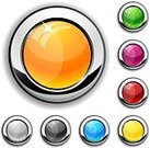 Push Button,Interface Icons,Internet,Icon Set,Shiny,Blank,Circle,Pushing,Symbol,Metallic,Backgrounds,Silver Colored,Metal,Blue,Orange Color,Black Color,Green Color,Red,Turquoise,Pattern,Design,Gray,Computer Icon,Bright,No People,Multi Colored,Reflection,Technology Symbols/Metaphors,Brightly Lit,Shadow,Magenta,Yellow,Empty,Technology,Illustrations And Vector Art,Vibrant Color,Vector Icons,Vector