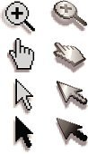 Cursor,Human Hand,Computer,Symbol,Pixelated,Computer Icon,Arrow Symbol,Magnifying Glass,Vector Icons,Illustrations And Vector Art