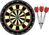Dart,Darts,Dartboard,Pub,Target,Sport,Ilustration,Vector,Number,Competition,Bull's-Eye,webbing,Leisure Games,Pattern,Playing,Sports And Fitness,Competitive Sport,steel tip