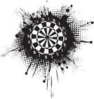 Dart,Darts,Dirty,Spray,Splattered,Silhouette,Grunge,Design,Number,Halftone Pattern,Sport,Backgrounds,Spotted,Vector,Design Element,Ink,Brush Stroke,Inkblot,Sketch,Textured Effect,Liquid,Illustrations And Vector Art,Sports And Fitness,Old,Drop,Leisure Games,Arts Abstract,Arts And Entertainment,Abstract