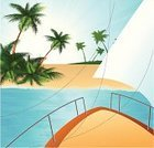 Nautical Vessel,Island,Boat Deck,Yacht,Beach,Sailboat,Sailing Ship,Tropical Climate,Vector,Vacations,Sail,Sailing,Side View,Yachting,Water,Sea,Journey,Activity,Summer,Palm Tree,Transportation,Relaxation,Land,Travel,Backgrounds,Wave,Sunlight,Day,Transportation,Bodies Of Water,Blue,Sun,Vibrant Color,Nature,Ilustration,Horizon Over Water,Travel Locations,Coastline,Leisure Activity,Beaches,Tree,Image,Nature