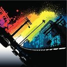 Urban Scene,City Life,Graffiti,City,Rainbow,Backgrounds,Car,Grunge,Spray,Vector,Colors,Paint,Color Image,Design,Multi Colored,Street,Traffic,Town,Power Line,Splattered,Ilustration,Modern,Vibrant Color,Travel,Built Structure,Multiple Lane Highway,Building Exterior,Highway,Design Element,Business Travel,Part Of,Commuter,No People,city traffic,Digitally Generated Image
