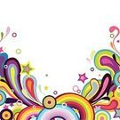 Rainbow,Swirl,Splashing,Color Image,Multi Colored,Retro Revival,Star Shape,Abstract,Vector,Circle,Motion,Computer Graphic,Modern,Art,Fashion,Design,Sparse,Ornate,Positive Emotion,Energy,Painted Image,Isolated,White,Remote,Beautiful,Curled Up,Creativity,Design Element,Style,Decoration,Image,Vector Backgrounds,Shape,Elegance,Illustrations And Vector Art,Ilustration,Copy Space