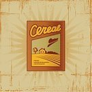 Breakfast Cereal,Box - Container,1940-1980 Retro-Styled Imagery,Groceries,Woodcut,Food,Packaging,Backgrounds,Symbol,Old,Old-fashioned,Merchandise,Silhouette,Ilustration,Retail,Engraved Image,Textured,Drawing - Art Product,Painted Image,Illustrations And Vector Art,Objects/Equipment,Grain And Cereal Products,Food And Drink,Vector,Scratched,Cartoon,Computer Graphic