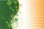 Republic of Ireland,Luck,Irish Culture,Clover,patrick,Swirl,Tree,Flower,Abstract,Green Color,Art,Ilustration,Vector,Old-fashioned,Springtime,Backgrounds,Scroll Shape,Summer,Celebration,Saint,Formal Garden,Pattern,Grunge,Illustrations And Vector Art,Branch,Image Created 17th Century,Holiday,Curve,flourishes,Vector Florals,Part Of,Botany,Plant,paddy's,Nature,Vector Backgrounds,Floral Pattern,Arts Abstract,Design,Copy Space,Ornate,Arts And Entertainment,Shape,Cultures,Textured Effect,Leaf