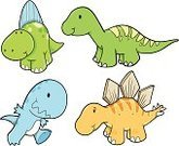 Dinosaur,Cute,Set,Animal,Tyrannosaurus Rex,Reptile,Reptiles,Illustrations And Vector Art,Animals And Pets,Vector