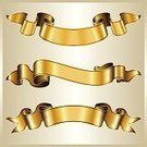 Banner,Gold Colored,Ribbon,Vector,Scroll Shape,Elegance,Old-fashioned,Curled Up,Swirl,Decoration,Pattern,Part Of,Illustrations And Vector Art,Arts Backgrounds,Arts And Entertainment,Style,Set,Collection,Vector Cartoons,Ilustration,Blank,No People,Group of Objects,Design,Arts Abstract