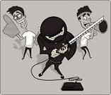 Video,Video Game,Ninja,Leisure Games,Heroes,Costume,Nerd,Teenager,Adolescence,Humor,Support,Friendship,People,Cheering,Teens,Concentration,Traditional Clothing,Stage Costume,Serious,Playing,Fun,Vector Cartoons,Interactive Television,Illustrations And Vector Art,Playful,Period Costume,Cartoon,Lifestyle,Cooperation