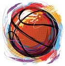 Basketball,Sport,Grunge,Ball,Painted Image,Vector,Creativity,Brush Stroke,Sphere,Drawing - Art Product,Paint,Ilustration,Colors,Leisure Games,Rubber,Sports Backgrounds,Vector Backgrounds,Team Sports,hand drawn,Illustrations And Vector Art,Sports And Fitness