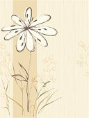Summer,Elegance,Bouquet,Flower,Single Flower,Backgrounds,Seamless,Flower Head,Vertical,Drawing - Art Product,Springtime,Blossom,Ilustration,Plant,Nature,hand drawn,Grass,Cartoon,Pencil Drawing