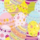 Easter,Eggs,Seamless,Easter Egg,Backgrounds,Illustrations And Vector Art,seamless background