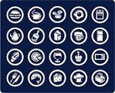 Symbol,Food,Domestic Kitchen,Computer Icon,Icon Set,Chef's Hat,Pizza,Refrigerator,Microwave,Stove,Fish,Beer - Alcohol,Toaster,Sign,Cupcake,Vector,Cooking Pan,Cake,Coffee Bean,Milk,Fork,Cheese,Eggs,Kitchen Utensil,Hamburger,Ice Cream,Beer Glass,Group of Objects,Fried Egg,Ilustration,Ice Cream Cone,Prepared Fish,Teapot,Table Knife,Wineglass,vector icons,Pap,Alcohol,Objects/Equipment,Food And Drink,vector icon