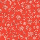 Bird,Pattern,Ethnic,Red,Flower,White,Seamless,Symbol,Floral Pattern,Backgrounds,Swirl,Vector,Ornate,Computer Graphic,Hand-drawn,Flowers,Nature,Vector Florals,Vector Ornaments,Illustrations And Vector Art,Plant,Ilustration,Creativity,Cultures,Two Colors
