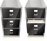 Filing Cabinet,Office Interior,File,Filing Documents,Furniture,Symbol,Document,Metal,Vector,Computer Icon,Office Supply,Ilustration,Business Concepts,Business,Objects/Equipment