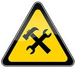 Symbol,Repairing,Computer Icon,Construction Industry,Sign,Service,Work Tool,Support,Help,Wrench,IT Support,Construction Site,Triangle,Technology,Yellow,Cross Shape,Road Sign,Working,Banner,Placard,White Background,Ilustration,Hammer,Warning Sign,Isolated,Construction Works,Assistance,Spanner