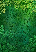 Floral Pattern,Dirty,Pattern,Grunge,Backgrounds,Green Color,Design,St. Patrick's Day,Textured,Decoration,Textured Effect,Abstract,Ornate,Nature,Old,Damaged,Run-Down,Nature,Aging Process,Natural Pattern,Arts And Entertainment,Vertical,Foliate Pattern,Wallpaper Pattern,Nature Backgrounds,Arts Backgrounds
