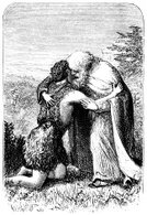 prodigal,Son,Forgiveness,Reconciliation,Father,Embracing,Christianity,Sketch,Spirituality,Drawing - Art Product,Old,Ilustration,Arrival,Meeting,Senior Adult,Guilt,Men,Prodigal Son,Allegory Painting,Line Art,Togetherness,History,Mature Men,Facial Hair,Black And White,Bonding,Cultures,Emotion,Engraved Image,Beard,Monochrome,Old-fashioned,19th Century Style,Religion,Image Created 19th Century,New Testament,Communication,The Past,Finding,Ephemera,Rural Scene,Outdoors,Religious Scene,Religious Event,Antique,Joy,Relationship Difficulties,Social History