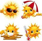 Sun,Summer,Cartoon,Heat - Temperature,Thermometer,Smiling,Sunlight,Umbrella,Rain,Vector,Sunglasses,Cheerful,Characters,Temperature,Happiness,Ilustration,Weather,Pollution,Dust,Climate,Irritation,Illustrations And Vector Art,Nature,face expression,Protective Mask - Workwear,Vector Cartoons,Meteorology