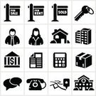 Real Estate,Symbol,School Building,Computer Icon,Icon Set,Real Estate Agent,House,Real Estate Sign,Map,Sign,Box - Container,Bank,Key,Telephone,Black And White,Calculator,Mortgage Document,For Sale,Male,Cardboard Box,Document,Female,Contract,Agreement,Moving Box,business building,For Rent Sign,Real Estate Icons