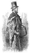 Etching,Tramp,London - England,Sketch,People,Hat,Greenwich,Rag,Clothing,Top Hat,Stovepipe Hat,Engraved Image,19th Century Style,Ilustration,Passenger,The Past,Image Created 19th Century,Human Role,English Culture,Explorer,Characters,Social History,City Life,Art,Industrial Revolution,Northern Europe,Art And Craft,Victorian Style,History,England,Lifestyle,Image,Social Issues,Old-fashioned,British Culture,Art Product,Traditional Clothing,Greater London,Poverty,Inner London,Southeast England,People,Drawing - Art Product,Image Created 1870-1879,Image Date,UK,Illustrations And Vector Art,Black And White,Cultures,Headwear,Styles,Gustave Dore