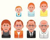 Aging Process,Old,Human Age,Human Face,Computer Icon,Child,People,Senior Adult,Young Adult,Men,Icon Set,Cartoon,Growth,Avatar,Baby,Ilustration,Little Boys,Vector,Human Head,Set,Smiling,Vector Icons,Illustrations And Vector Art,People