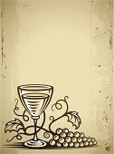 Wine,Grape,Wineglass,Glass - Material,Food,Vector,Vine,Old-fashioned,Drawing - Art Product,Bunch,Leaf,Outline,Alcohol,Alcohol,Fruit,Silhouette,Modern Rock,Drink,Nature,Drawing - Activity,Plant,Ilustration,Illustrations And Vector Art,Drinks,Ripe,Vegetarian Food,Branch,Food And Drink,Contour Drawing,Back Lit,Single Object,Transparent,Liquid