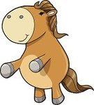 Horse,Pony,Cute,Mammal,Animal,Jumping,Ilustration,Illustrations And Vector Art,Vector,Animals And Pets