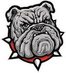 Bulldog,Mascot,Dog,Vector,Anger,Furious,Sign,Ilustration,Spiked,Animal,Pride,Large,Painted Image,Pets,Black Color,Strength,Power,Claw,Computer Graphic,Dogs,Aggression,Illustrations And Vector Art,Red,Serious,Isolated,Animals And Pets