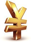 Yen Sign,Currency,Japanese Yen,Gold,Gold Colored,Currency Symbol,Trading,Symbol,Japan,Vector,Three-dimensional Shape,Sign,Metal,Stock Exchange,Metallic,Shiny,Bling Bling,Charity and Relief Work,Success,Business,Wealth,Bank Account,Concepts,Global Business,Growth,Marketing,Finance,Savings,Abundance,Yellow,Investment,White Background,Making Money,Banking,Ideas,No People,Isolated On White,Isolated,forex,eps8,Paying,Reflection,Close-up