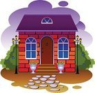 House,Window,Cottage,Brick,Attic,Door,Mansion,Facade,Architecture,Staircase,Vase,Village,Vector,Roof,Outdoors,Building Exterior,Entrance,Painted Image,Flower,Suburb,Rural Scene,Ilustration,Violet,Red,Stone Material,Homes,Image,Blue,Summer,No People,Tranquil Scene,Architecture And Buildings,Green Color,Bush,Illustrations And Vector Art,Lighting Equipment,Cloud - Sky,Brown,Residential District,Sky