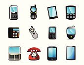 Smart Phone,Mobile Phone,Symbol,Telephone,Computer Icon,Walkie-talkie,Number,Icon Set,Palmtop,Electronic Organizer,Personal Data Assistant,Touch Screen,Photo Messaging,Satellite Phone,Interface Icons,Push Button,Flip Phone,Computer Monitor,Business,Telecommunications Equipment,Transceiver,Conference Phone,Technology,Vector,Vector Icons,Telephone Receiver,Rotary Phone,Communication,Business,Global Communications,Illustrations And Vector Art,Hands-free Device