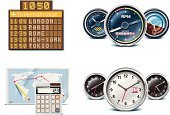 Arrival Departure Board,Symbol,Computer Icon,Airport,Air Vehicle,Airplane,Icon Set,Speedometer,Altitude Dial,Travel,Time,Planning,Instrument of Measurement,Flying,Clock,Commercial Airplane,Jet - Band,Calculator,Distant,Exploration,Time Clock,Vector,Business Travel,Private Airplane,Interface Icons,High Up,Cruise,Journey,World Map,Pencil,Global Time,Clock Face,Global Communications,Miles Counter,Artificial Horizon,Ilustration,Local Time,civil aviation,Travel Destinations,Office Clock,Attitude Indicator