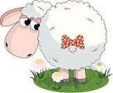 Sheep,Cartoon,Lamb,Animal,Ewe,Cute,Humor,Farm,Vector,Flower,Animal Back,Bow,Springtime,Wool,Black Color,Image,White,Bizarre,Characters,Doodle,Fun,Livestock,Field,Caricature,Pink Color,Summer,Front View,Art,Domestic Animals,Ilustration,Fluffy,Nature,Green Color,Animals And Pets,Mammal,Standing,Grass,Illustrations And Vector Art,Mammals,One Animal,Meadow,Shadow,Vector Cartoons,Farm Animals