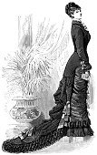 Victorian Style,Corset,Women,Old-fashioned,People,Engraving,Engraved Image,Dress,Book,Fashion,Crinoline,Clothing,Skirt,Obsolete,France,History,Fashion Model,Female,Old,Lifestyle,Haute Couture,The Past,Luxury,Fashion,Historical Clothing,Period Costume,Adult,Plant,Traditional Clothing,Young Adults,Beautiful,Elegance,Styles,Beauty And Health,Young Adult
