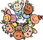 People,Friendship,Happiness,Teamwork,Togetherness,Unity,Cheerful,Human Hand,Design,Smiling,Looking,Holding,Ethnicity,Playing,Child,Teenager,Cute,Color Image,Anthropomorphic Smiley Face,Illustration,Group Of People,Boys,Teenage Girls,Girls,Vector,Serene People,African Ethnicity