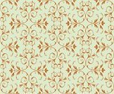 Seamless,Ornate,Swirl,Pattern,Silk,Green Color,Classic,Baroque Style,Repetition,Floral Pattern,Gold Colored,Backgrounds,Vector,Wallpaper Pattern,Vector Backgrounds,Vector Ornaments,Illustrations And Vector Art,Vector Florals,Old-fashioned,Antique,Elegance,Leaf