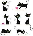 Domestic Cat,Cartoon,Black Color,Vector,Mouse,Cute,White,Fish,Animal,Kitten,Art,Sleeping,Tail,Domestic Animals,Posing,Ilustration,Food,Drawing - Activity,Shape,Set,Outline,Characters,Pets,Backgrounds,Pencil,Design Element,Small,themes,Fun,Simplicity,Napping,Action,Animal Bone,Collection,Remote,Female Animal,Playful,Isolated,Vector Cartoons,Mammal,White Background,Hide And Seek,Mammals,Cats,Meowing,Feline,Animals And Pets,Illustrations And Vector Art