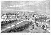 Castle,Windsor - England,Windsor Castle,Ilustration,Engraved Image,English Culture,UK,British Culture,Berkshire,Old,Aerial View,History,Residential Structure,Mansion,Old-fashioned,Built Structure,England,Middle Ages,Medieval,Northern Europe,Architecture,High Angle View,Image,Time Period,Illustrations And Vector Art,Architecture And Buildings,Man Made,Fort,The Past,Cultures,Europe,Southeast England,Geographical Locations,International Landmark,Antique,European Culture,Styles,National Landmark,Architectural Styles,Viewpoint,Famous Place,Illustration Technique,Travel Locations