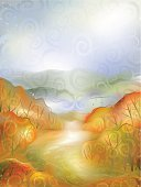 The Way Forward,Watercolor Painting,Footpath,Road,Landscape,Winding Road,Autumn,Scenics,Painted Image,Country Road,Beauty In Nature,Pattern,Backgrounds,Tranquil Scene,Rural Scene,Vector,Curve,October,Non-Urban Scene,Ilustration,Hill,Nature,Land,Color Gradient,Colors,Light - Natural Phenomenon,Orange Color,Leaf,Cloud - Sky,November,Wilderness Area,Candid,Vertical,Fall,Land Feature,Pastel Colored,Red,Moody Sky,Intricacy,Complexity,Plant,Uncultivated,Brightly Lit,Bush,Illustrations And Vector Art,Nature,Middle Of The Road,Vector Cartoons,Rolling Landscape,Natural Land State,Bright,Landscapes,Cloudscape