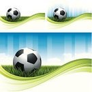 Soccer,Soccer Ball,Backgrounds,Ball,Sport,Grass,Vector,Flowing,Green Color,Wave Pattern,Outdoors,Fun,Ilustration,Design,Design Element,Leisure Games,Team Sport,Digitally Generated Image,Lush Foliage,Colors,Color Image,No People,Vibrant Color