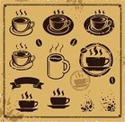 Coffee - Drink,Cafe,Cup,Retro Revival,Sign,Symbol,Rubber Stamp,Breakfast,Tea - Hot Drink,Chocolate,Computer Icon,Label,Old,Vector,Backgrounds,Wholegrain,Ilustration,Pattern,Design,Picture Frame,Frame,Drink,Steam,Computer Graphic,Grunge,Design Element,Heat - Temperature,Morning,Coffee Cup,Paper,Espresso,Set,Brown,Isolated,Coffee Bean,Dark,Shape,Caffeine,Hot Drink,Liquid,Decoration,Mug,Black Coffee,Refreshment,Single Object,Saucer,Painted Image,Rich Taste,favorite
